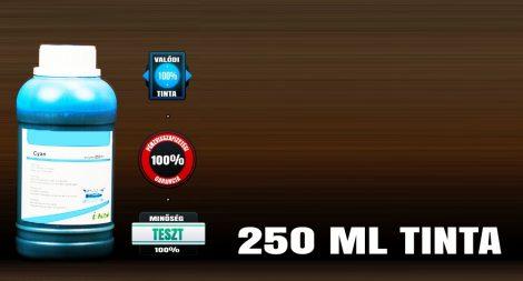 Univerzális utántöltő tinta Brother, Canon, HP, Lexmark tintapatronokhoz, VILÁGOS CIÁN színű 250 ml-es