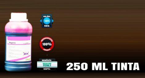 Univerzális utántöltő tinta Brother, Canon, HP, Lexmark tintapatronokhoz, VILÁGOS MAGENTA színű 250 ml-es utántöltő