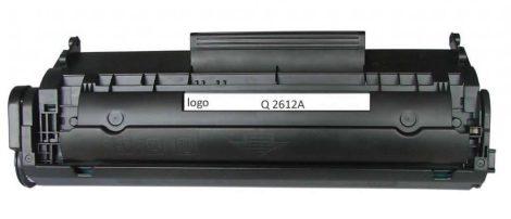 HP Q2612A black utángyártott toner Q2612X (kapacitás: ~2000 oldal!) (12X)