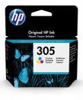 HP Nr.305 (3YM60AE) eredeti színes tintapatron, ~100 oldal