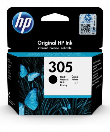HP Nr.305 (3YM61AE) eredeti fekete tintapatron, ~120 oldal