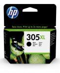 HP Nr.305XL (3YM62AE) eredeti fekete tintapatron, ~240 oldal