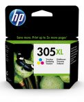 HP Nr.305XL (3YM63AE) eredeti színes tintapatron, ~200 oldal