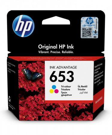 HP Nr.653 (3YM74AE) eredeti színes tintapatron, ~200 oldal