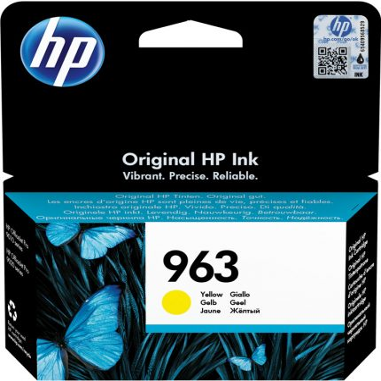 HP Nr.963 (3JA25AE) eredeti sárga tintapatron, ~700  oldal