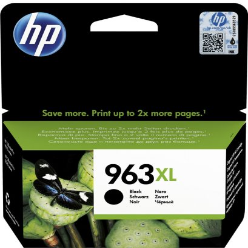HP Nr.963XL (3JA30AE) eredeti fekete tintapatron, ~2000  oldal