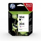 HP Nr.304 eredeti tintapatron multipakk (1db fekete + 1 db színes patron)
