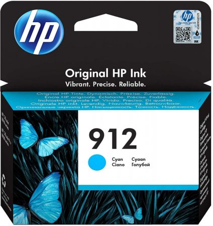 HP Nr.912 (3YL77) eredeti cián tintapatron, ~315 oldal