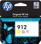 HP Nr.912 (3YL79) eredeti sárga tintapatron, ~315 oldal