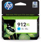 HP Nr.912XL (3YL81) eredeti cián tintapatron, ~825 oldal