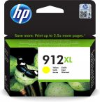 HP Nr.912XL (3YL83) eredeti sárga tintapatron, ~825 oldal