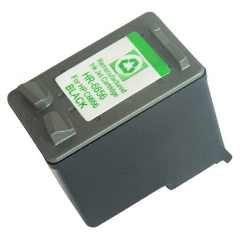 HP C6656A utángyártott fekete tintapatron