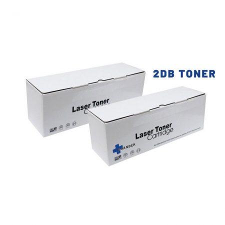 2DB HP Q7553X  utángyártott tonerCSOMAG + hibajavító roller (2X≈7000 oldalas)