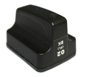 HP -hez utángyártott C8719E fekete tintapatron  Nr.363