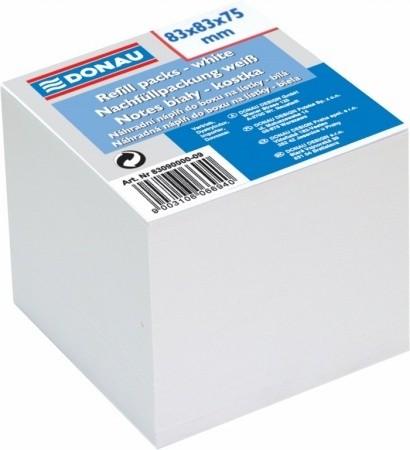 DONAU fehér kockatömb 83x83x75 mm, 750 lap