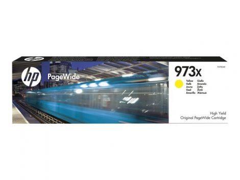 HP Nr.973X (F6T83AE) eredeti sárga patron, ~7000 oldal
