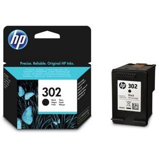 HP F6U66AE eredeti fekete tintapatron, Nr.302