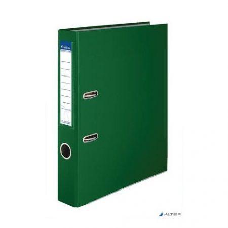 Iratrendezö, 50mm, zöld, élvédö sínnel