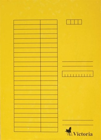 Papír gyorsfüzö, sárga 5db