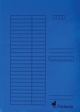 Papír gyorsfüzö, kék 5db