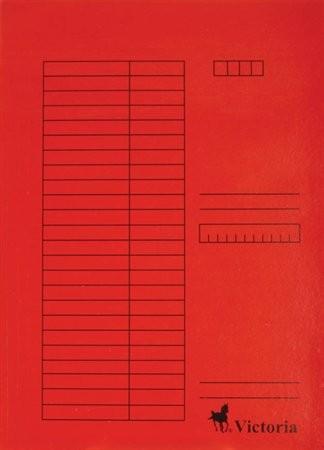 Papír gyorsfüzö, piros 5db