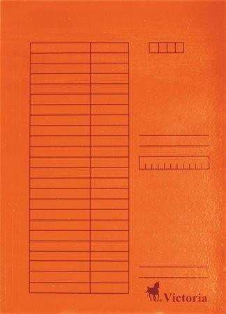 Papír gyorsfüzö, narancs 5db
