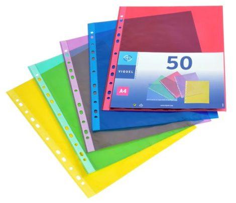 Lefűzhető genotherm 70mik. vegyes színek A4 50db