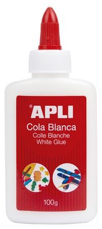 "Hobbyragasztó, 100 g, APLI ""White Glue"""