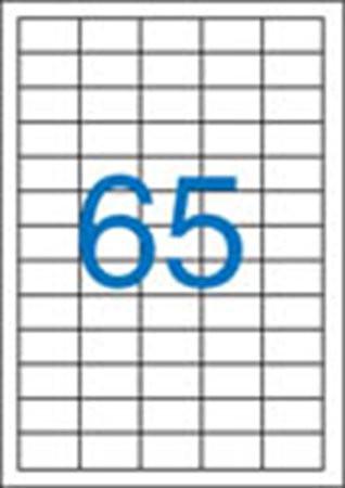 5 pályás etikett, 38x21,2 mm, 6500 etikett/csomag VICTORIA