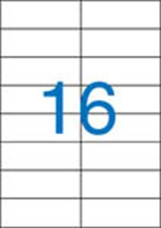 2 pályás etikett, 105x37 mm, 1600 etikett/csomag VICTORIA