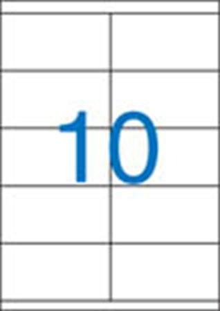 Etikett, univerzális, 105x57 mm, VICTORIA, 1000 etikett/csomag