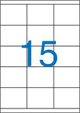 3 pályás etikett, 70x50,8 mm, 1500 etikett/csomag VICTORIA