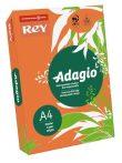 """Intenzív narancssárga, A4, 80 g, Adagio """"REY""""  színes másoló-, nyomtatópapír (500lap, intenzív szín)"""