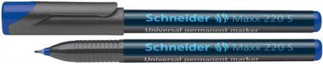 SCHNEIDER alkoholos tűfilc, kék MAXX220S, 0,4mm