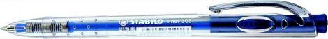 """STABILO Liner 308"""" kék golyóstoll, kék tolltest"""""""