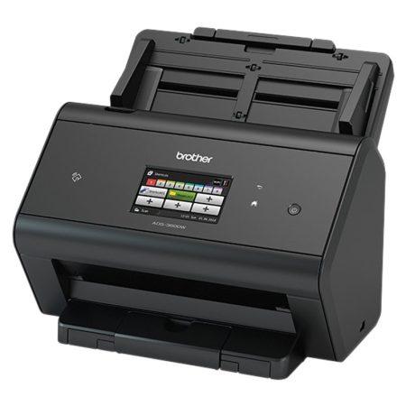 Brother ADS-3600w asztali duplex, hálózati, wi-fi-s színes dokumentum szkenner + 100 db genotherm (ADS3600WYJ1)