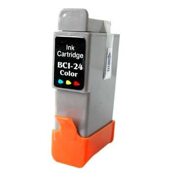 Canon nyomtatóhoz utángyártott BCI-24 CMY színes tintapatron (bci24l)