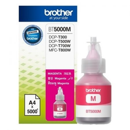 Brother BT5000m magenta tinta DCP-T300/T500W/T700W/MFC-T800W nyomtatókhoz