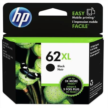 HP C2P05AE, Nr.62XL eredeti fekete tintapatron, ~600 oldal