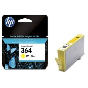 HP Nr.364 (CB320EE) eredeti sárga tintapatron, ~300 oldal