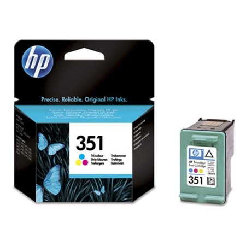 HP CB337EE  eredeti színes tintapatron,  Nr.351, HP351