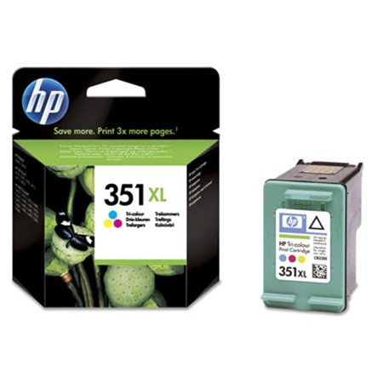 HP CB338EE  eredeti színes tintapatron,  Nr.351XL, HP351XL