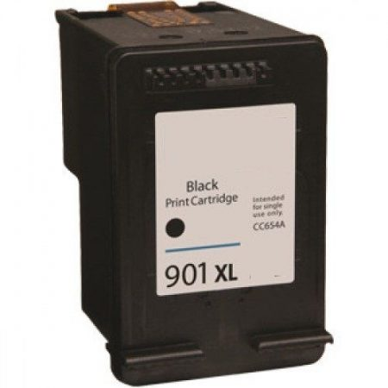 HP CC654AE utángyártott tintapatron, fekete No.901XL (cc653)