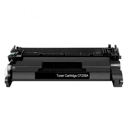 HP -hez CF259A (59A)  fekete utángyártott toner (~3000 oldal)