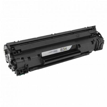HP nyomtatókhoz CF283X (HP 83X) fekete utángyártott toner (≈2200 oldalas)