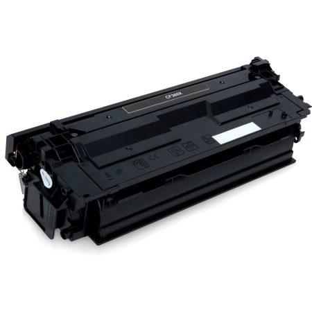 HP nyomtatóhoz CF360X utángyártott fekete toner (~12500 oldal) No.508X