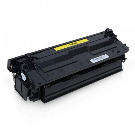 HP nyomtatóhoz CF362X utángyártott sárga toner (~9500 oldal) No.508X