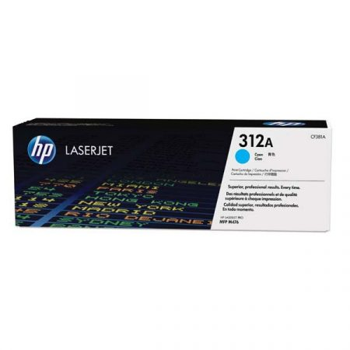 HP CF381A (Nr. 312A) eredeti cián toner (≈2700 oldal)