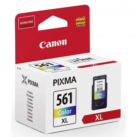 Canon® CL-561 XL eredeti színes tintapatron, ~300 oldal (cl561xl)