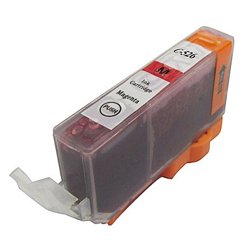 Canon nyomtatóhoz utángyártott CLI-526 M magenta tintapatron Chip-pel (cli526)